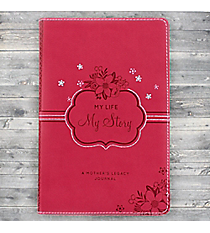 My Life, My Story Pink LuxLeather Journal #JLP021