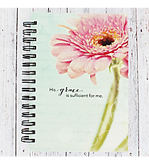 His Grace Is Sufficient Large Wirebound Journal #JLW005