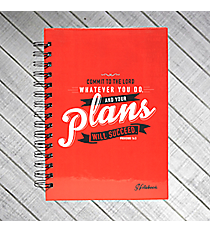 Proverbs 16:3 Large Wirebound Journal #JLW030