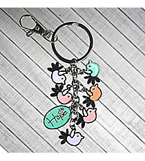 Holly & Hope Bird Charm Keyring #KCH007