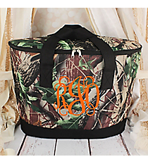 Camo with Black Trim Cooler Tote with Lid #LCB-703