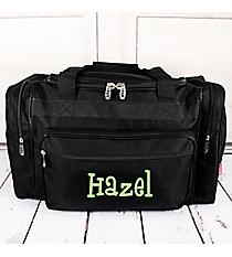 """Black Duffle Bag 20"""" #LM420-BLACK"""