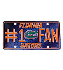 Florida Gators Metal License Plate #5503/MTF100102