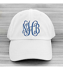 White Baseball Cap #LP101