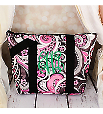 Flower Swirl Insulated Lunch Bag #LT15-1005