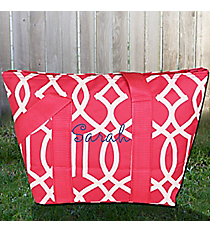 Pink Trellis Insulated Lunch Bag #LT15-1349-P