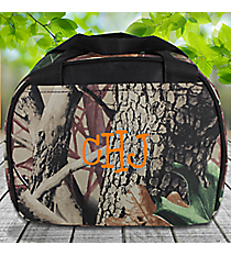 Camo Bowler Style Insulated Lunch Bag #LT9-703