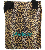 Leopard with Black Trim Insulated Lunch Tote #LT11-2008
