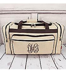 """Khaki Juco Duffle Bag 23"""" #MA423-KHAKI"""