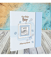 Our Baby Boy Memory Book #MBB003