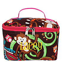 Monkey Island Case with Hot Pink Trim #MON277-HPINK