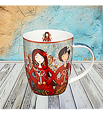 Lamentations 3:22-23 Three Angels Mug #MUG358