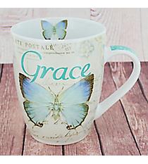 Ephesians 2:8 Butterfly Mug #MUG402