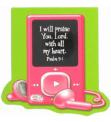 Little Miss Grace Psalm 9:1 iPod Notepad #NPD006
