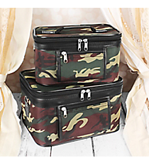 2 Piece Camo Cosmetic Case Set #PBC02-513