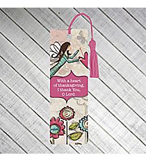 "One ""Heart of Thanksgiving"" Bookmark #PBM005"