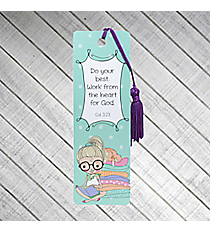"One Holly & Hope ""Colossians 3:23"" Bookmark #PBM016"