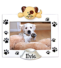 "4"" Dog Photo Frame Ornament #PF1047"