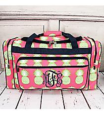 """Pineapple Of My Eye Duffle Bag 23"""" #PIL423-NAVY"""