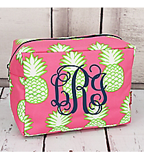 Pineapple Of My Eye Cosmetic Case #PIL613-NAVY