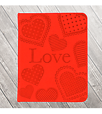 "Red LuxLeather ""Love"" Pocket Inspirations #PKI001"