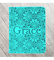 "Teal LuxLeather ""Grace"" Pocket Inspirations #PKI006"