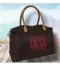 Chocolate Brown Weekender Bag #R803-CHO/BRO