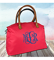 Hot Pink Weekender Bag #R803-HPINK