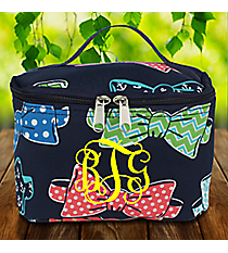 Fanciful Bow Ties Case #RIB277-NAVY