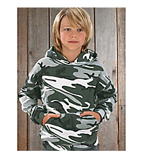 Youth Camo Hooded Sweatshirt #S211CV * Available in Various Colors