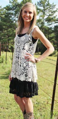 Lace Trim Cami Slip Dress