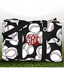 Baseball Utility Tote #SKQ585-BLACK