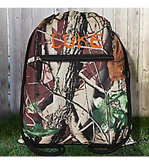 Camo Drawstring Backpack #SL-703