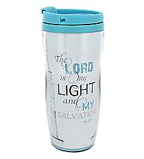 Psalm 27:1 Light and Salvation Travel Mug #SMUG147