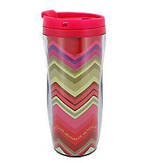 John 1:16 Chevron Chic Travel Mug #SMUG149