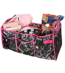BNB Natural Camo Utility Storage Tote with Insulated Bag #SN516-HPINK