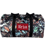 """21"""" BNB Natural Camo Quilted Duffle Bag with Black Trim #SNQ2626-BLACK"""