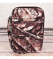 Natural Camo with Hot Pink Trim Quilted Wristlet #SNQ495-H/PINKNatural Camo with Brown Trim Quilted Wristlet #SNQ495-BROWN