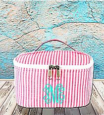 Pink Striped Seersucker Case #SR277-PINK