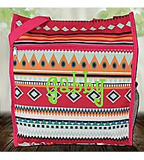 Pink Aztec Shopper Tote #ST13-705