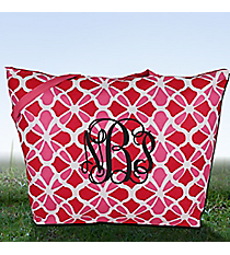 Petals in Pink Large Tote #ST20D-1348-P
