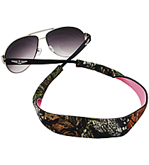 Mossy Oak with Pink Sunglass/Eyeglass Strap #STRP-MOP
