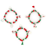One Holiday Charm Stretch Bracelet #STR-X-ASST