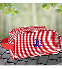 Red Gingham Cosmetic Case #SW181018