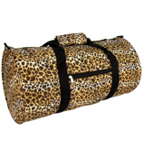 "16"" Roll Duffle Bag in Leopard Print #YT-2008"