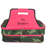 SALE! Army Camo Insulated Double Casserole Tote #ARM391-HPINK