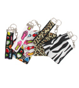 One Fashion Strapz Wristlet Coin Purse #WRS-CP-SHIPS ASSORTED