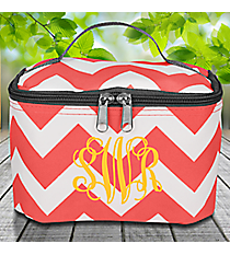 Coral Chevron Case with Gray Trim #ZIC277-CORAL