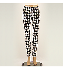Houndstooth Leggings #KJ8338 *Choose Your Size