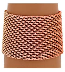 Orange Ombre Mesh Bracelet #AB7171-GO